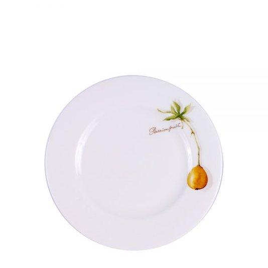 Prato sobremesa fresh fruit 6 peças
