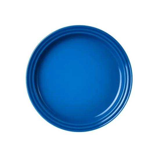Prato raso 27cm azul marseille le creuset