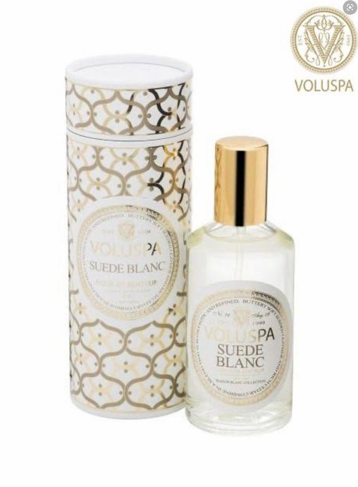 Spray ambiente suede blanc voluspa