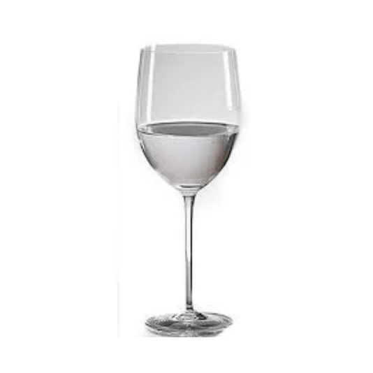 Taça de agua cristal ouro 490ml 6 peças