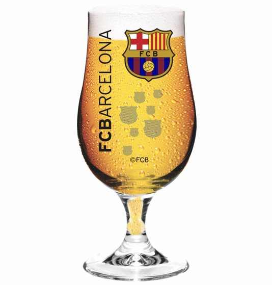 Taca de cerveja barcelona 380ml