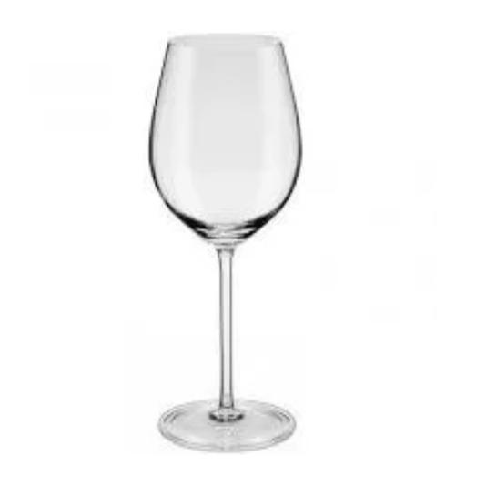 Taça de vinho branco chardonnay  cristal ouro 510ml 6 peças