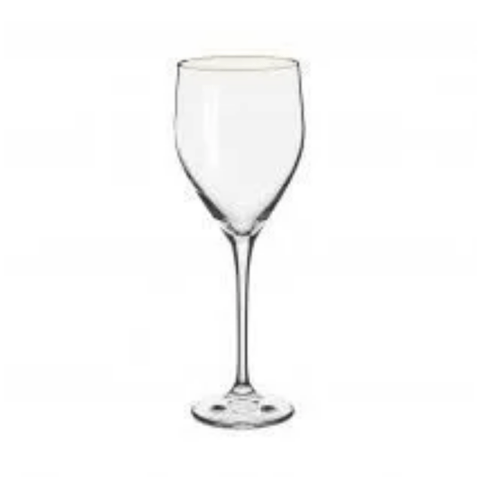 Taca vinho branco sitta gold 360ml 6pcs