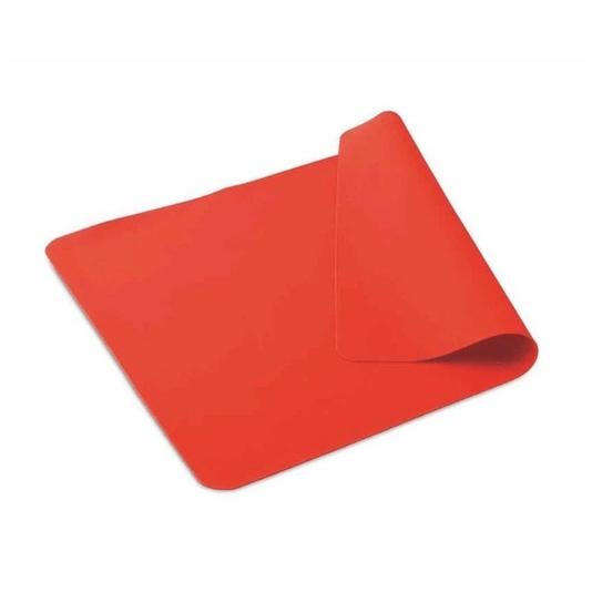 Tapete silicone pia  40x60cm vermelho hercules