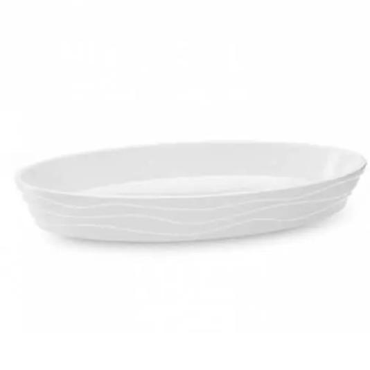 Travessa funda oval - buffet 28 x 17 x 4 cm - branco haus haus