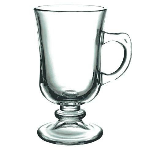 Xicaras de vidro irish coffee 120ml 6pcs