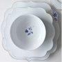 Prato raso linha  flowers royal white - pip studio