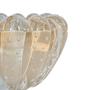 Vaso palha sem ouro 14cm de diâmetro di murano