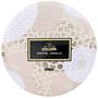 Vela lata 3 pavios 60h relevo santal vanille voluspa